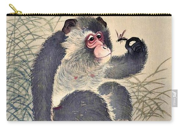 Top Quality Art - Monkey And Bug Carry-all Pouch