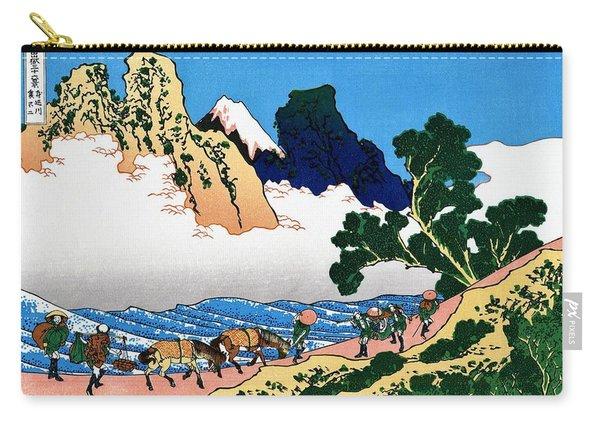 Top Quality Art - Mt Fuji36view-minobu River Urafuji Carry-all Pouch
