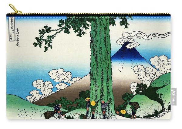 Top Quality Art - Mt,fuji36view-koshu Mishimagoe Carry-all Pouch