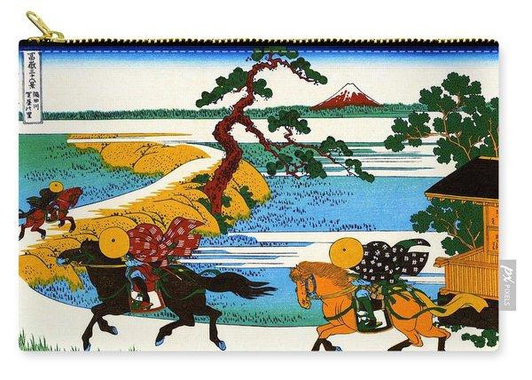 Top Quality Art - Mt,fuji36view-sumidagawa Sekiya Village Carry-all Pouch