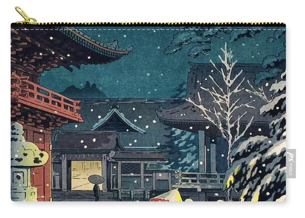 Top Quality Art - Nezu Temple Carry-all Pouch