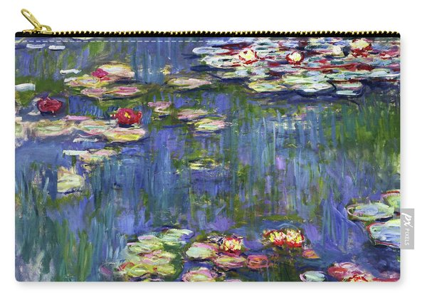 Water Lilies 1916 - Digital Remastered Edition Carry-all Pouch