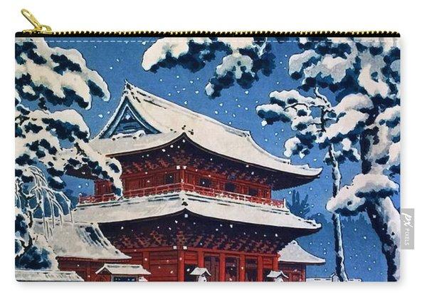 Top Quality Art - Zojoji Snow Carry-all Pouch