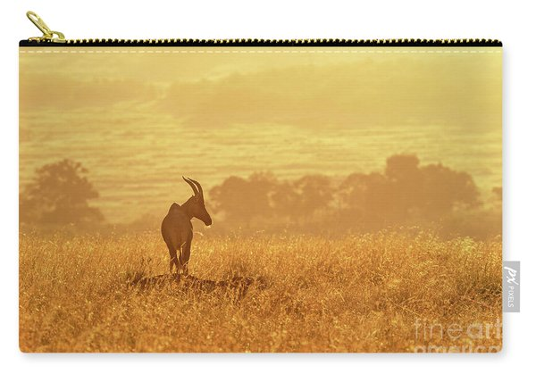 Topi In Early Morning Sunlight Carry-all Pouch