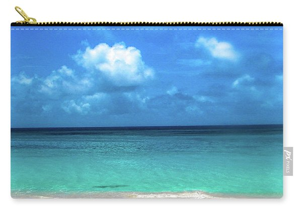 Topical Beach View Anguilla Carry-all Pouch