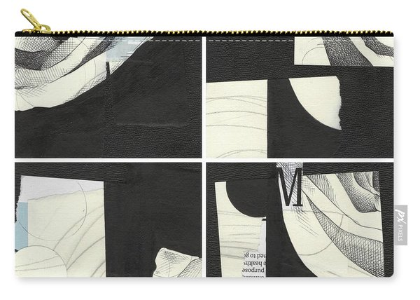 Torn Beauty No. 4 Carry-all Pouch