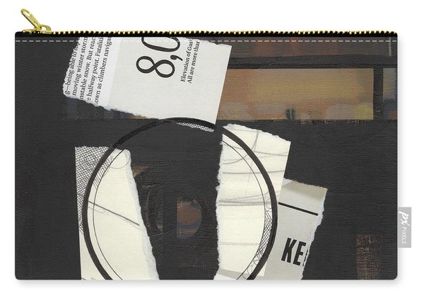 Torn Beauty No. 5 Carry-all Pouch