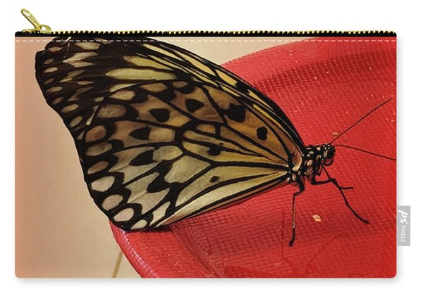 Torn Butterfly Carry-all Pouch