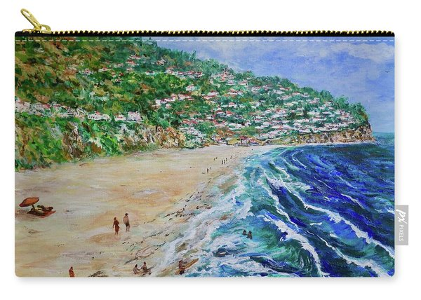 Torrance Beach, Palos Verdes Peninsula Carry-all Pouch