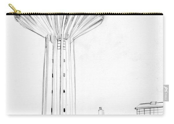 Torre Piezometrica Pencil Carry-all Pouch
