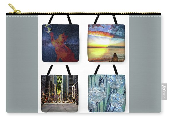 Tote Bags Samples Carry-all Pouch