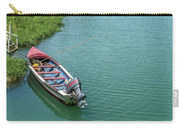 Tour Boat In Jamaica Carry-all Pouch