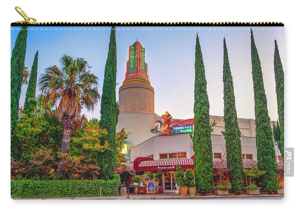 Tower Cafe Sunset- Carry-all Pouch