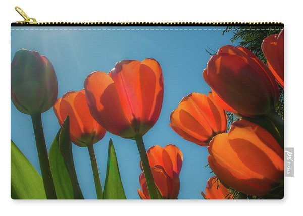 Towering Tulips Carry-all Pouch