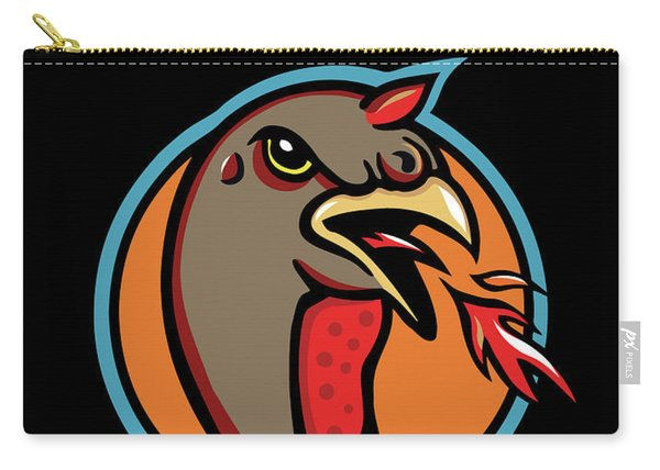 Town Mascot Carry-all Pouch