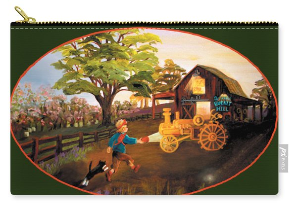 Tractor And Barn Carry-all Pouch