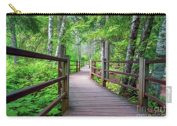 Trail At Gooseberry Falls Carry-all Pouch