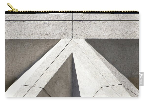 Transamerica Pyramid In San Francisco Abstract Geometry Details R733 Sq Carry-all Pouch