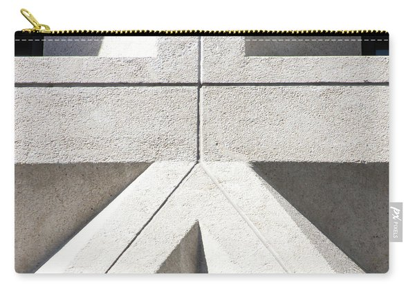 Transamerica Pyramid In San Francisco Abstract Geometry Details R737 Sq2 Carry-all Pouch