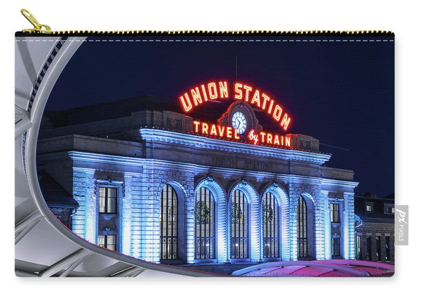Travel By Train - Denver Union Station #2 Carry-all Pouch