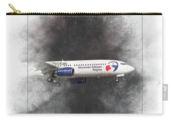 Travel Service Boeing 737-8cx Painting Carry-all Pouch