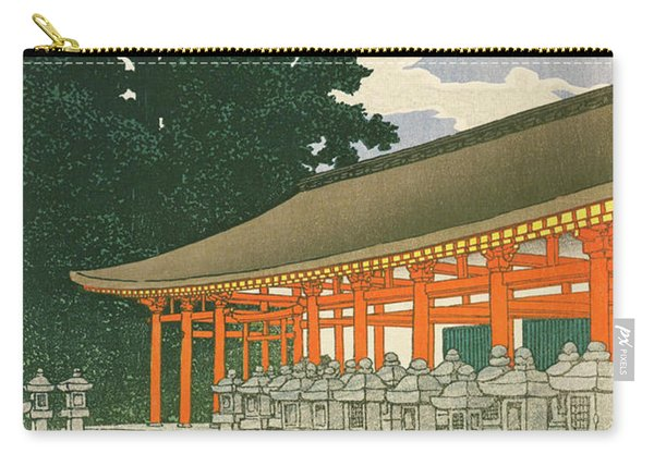 Travel Souvenir Second Collection, Nara, Kasuga Temple - Digital Remastered Edition Carry-all Pouch