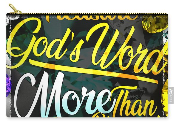 Treasure God's Word Carry-all Pouch
