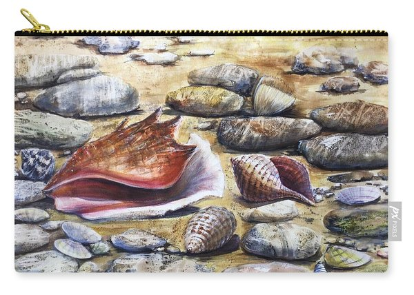 Treasures Of The Sea Carry-all Pouch
