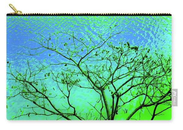 Tree And Water 3 Carry-all Pouch