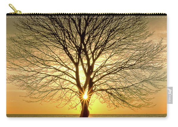 Tree Framed Sunrise New Hampshire Carry-all Pouch