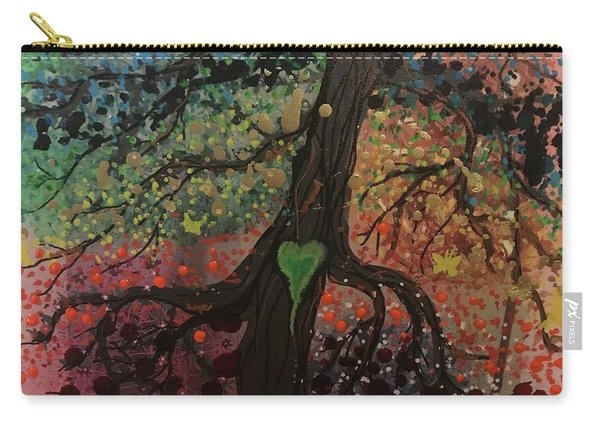 Tree Of Life Chakra Tree Carry-all Pouch