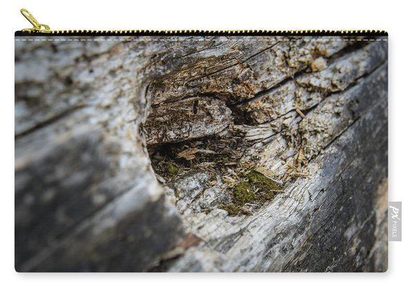 Tree Wood Carry-all Pouch