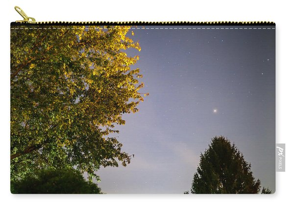 Trees And Stars Carry-all Pouch
