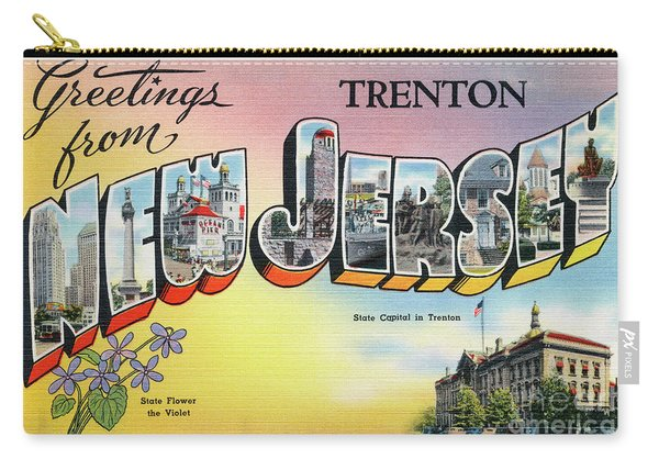 Trenton Greetings Carry-all Pouch