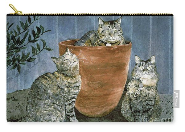 Tres Gatos Carry-all Pouch