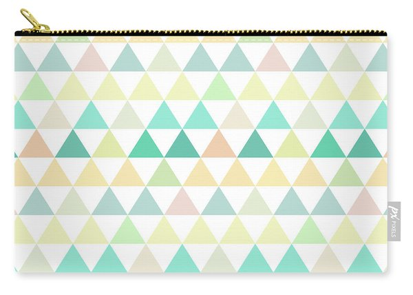 Triangle Abstract Background- Efg204 Carry-all Pouch