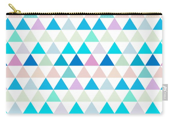 Triangle Abstract Background- Efg206 Carry-all Pouch