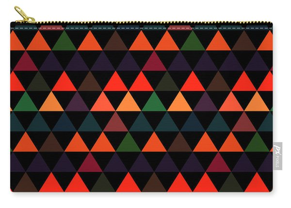 Triangle Abstract Background- Efg208 Carry-all Pouch