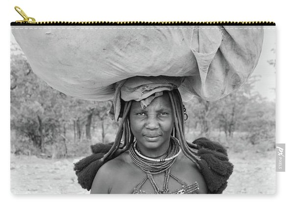 Tribes Portrait Carry-all Pouch