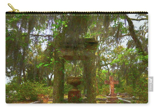 Tribute In Bonaventure Cemetary II Carry-all Pouch