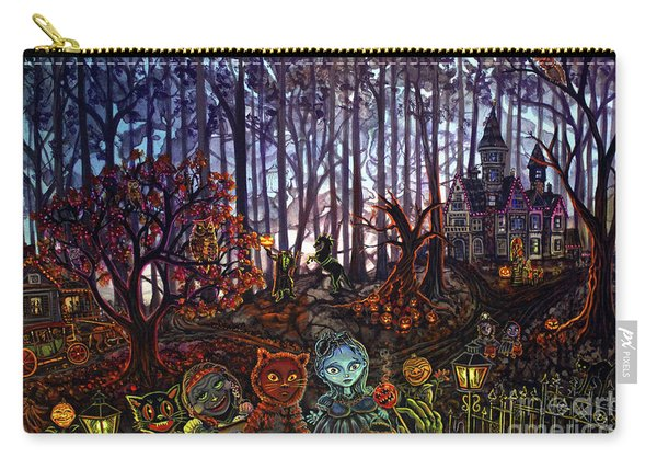 Trick Or Treat Sleepy Hollow Carry-all Pouch