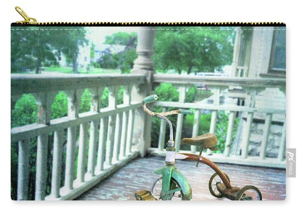 Trike On Front Porch Carry-all Pouch