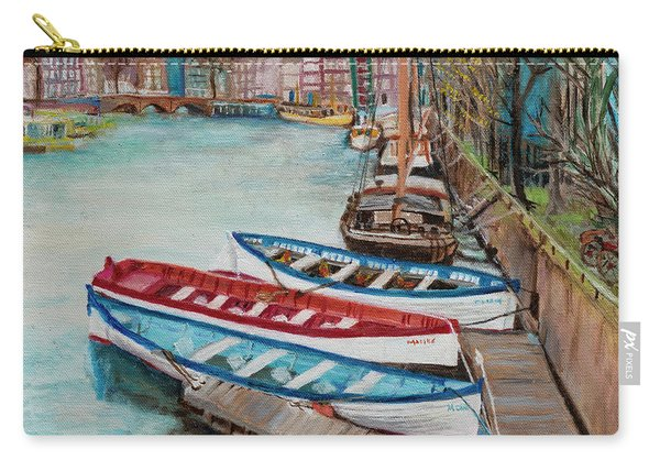 Trio Of Boats Carry-all Pouch