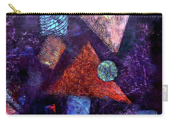 Trio Triangles  Carry-all Pouch