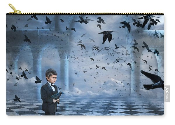 Tristan's Birds Carry-all Pouch
