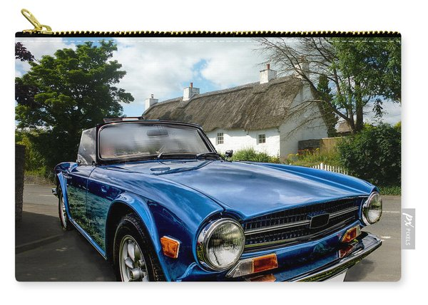 Triumph Tr6 Carry-all Pouch