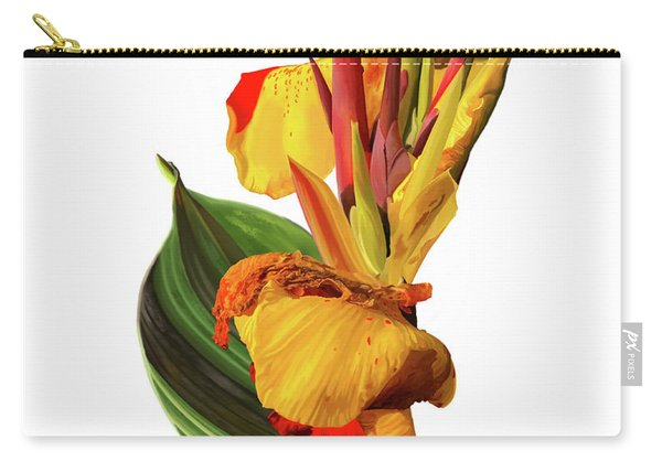 Tropical Bouquet-flower One Carry-all Pouch