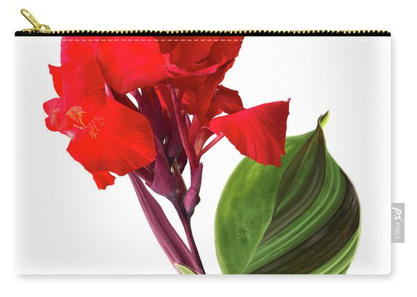 Tropical Bouquet-flower Three Carry-all Pouch