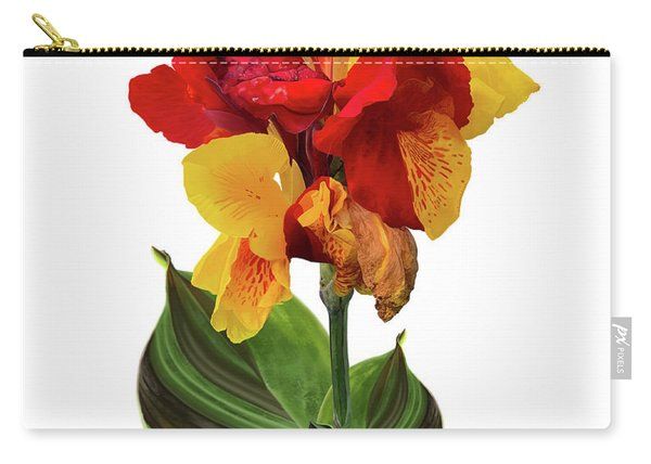 Tropical Bouquet-flower Two Carry-all Pouch