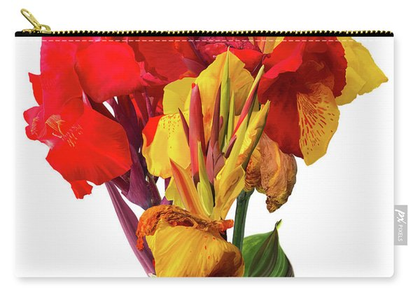 Tropical Bouquet Carry-all Pouch
